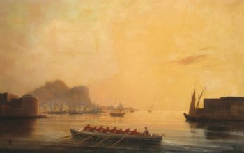 The Harbor   Ivan Constantinovich Aivazovsky   Oil Painting