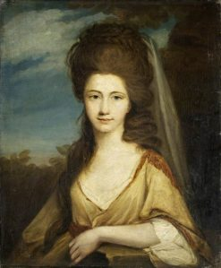 Lady Elizabeth Compton | Robert Edge Pine | Oil Painting