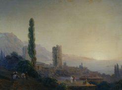 Gurzuf   Ivan Constantinovich Aivazovsky   Oil Painting