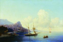 Gurzuf | Ivan Constantinovich Aivazovsky | Oil Painting