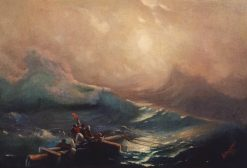 The Ninth Wave (study) | Ivan Constantinovich Aivazovsky | Oil Painting