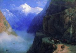 The Mountain Road | Ivan Constantinovich Aivazovsky | Oil Painting