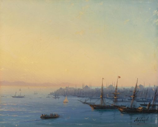 Constantinople at Sunset | Ivan Constantinovich Aivazovsky | Oil Painting