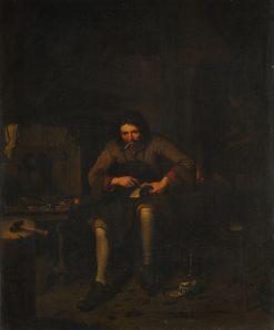 The Shoemaker | Pieter Gerritz. van Roestraten | Oil Painting