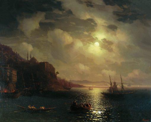 The Golden Horn. Boshporus | Ivan Constantinovich Aivazovsky | Oil Painting
