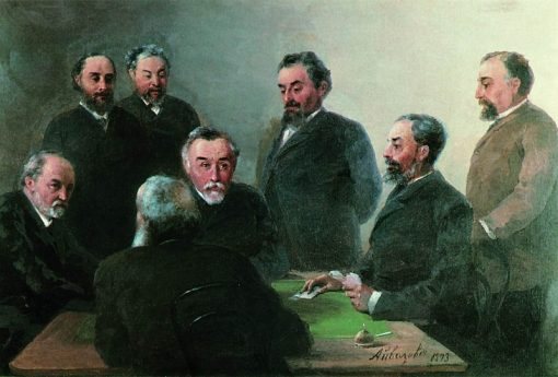 Ivan Aivazovsky with Friends | Ivan Constantinovich Aivazovsky | Oil Painting