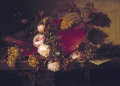 Still Life with Palette and Brushes