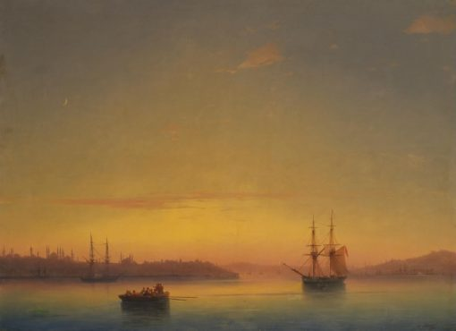 Constantinople at Sunrise | Ivan Constantinovich Aivazovsky | Oil Painting