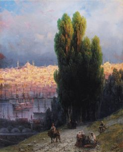 Constantinople | Ivan Constantinovich Aivazovsky | Oil Painting