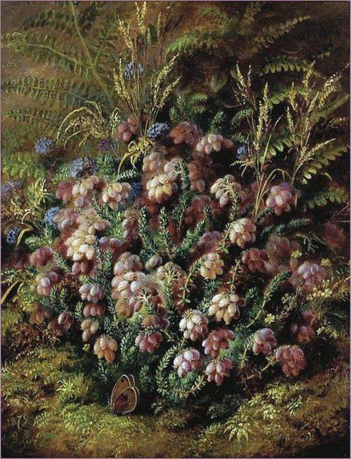 Butterfly in the Heather | Albert Durer Lucas | Oil Painting