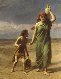 Hagar and Ismael | Frederick Goodall | Oil Painting