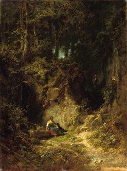 Forest Landscape | Carl Spitzweg | Oil Painting