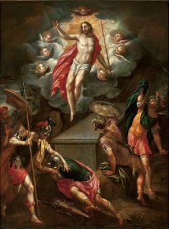 Resurrection of Christ | Hans Rottenhammer | Oil Painting