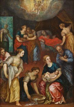 The Nativity of the Virgin Mary | Hans Rottenhammer | Oil Painting