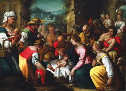 The Adoration of the Shepherds | Hans Rottenhammer | Oil Painting