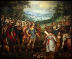 The Meeting of David and Abigail | Hans Rottenhammer | Oil Painting