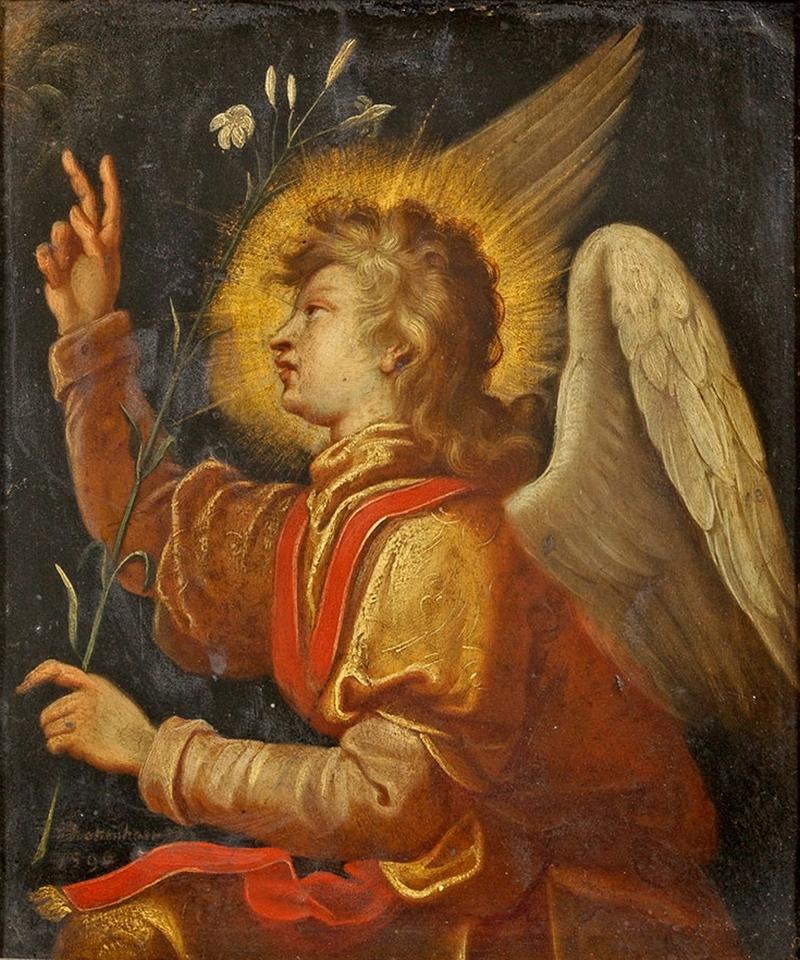 Archangel Gabriel Painting