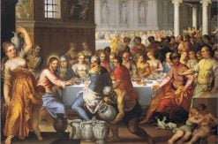 The Wedding Feast in Cana | Hans Rottenhammer | Oil Painting