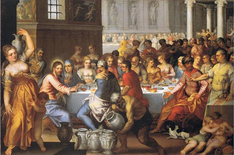 Wedding Feast At Cana.The Wedding Feast In Cana