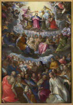 The Coronation of the Virgin | Hans Rottenhammer | Oil Painting