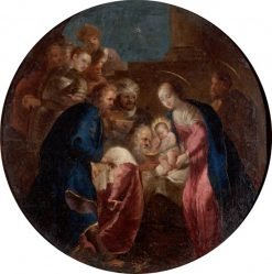 The Adoration of the Magi | Hans Rottenhammer | Oil Painting