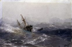 The Shipwreck | Ivan Constantinovich Aivazovsky | Oil Painting