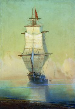 A Ship | Ivan Constantinovich Aivazovsky | Oil Painting