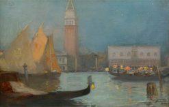 La serenata | Douglas Strachan | Oil Painting
