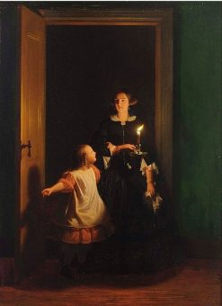 The Surprise | Johannes Rosierse | Oil Painting