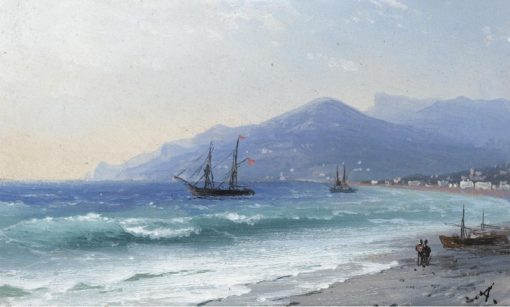 Crimean Coast | Ivan Constantinovich Aivazovsky | Oil Painting