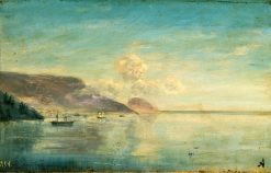 The Lagoon (study) | Ivan Constantinovich Aivazovsky | Oil Painting