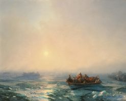 Ice on the Dnieper | Ivan Constantinovich Aivazovsky | Oil Painting