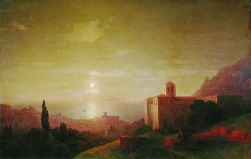 A Moonlit Night in Crimea | Ivan Constantinovich Aivazovsky | Oil Painting
