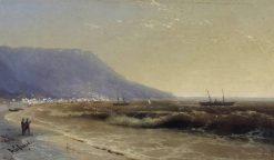 Sea   Ivan Constantinovich Aivazovsky   Oil Painting