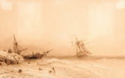 Sea | Ivan Constantinovich Aivazovsky | Oil Painting