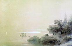 The Rocky Coast | Ivan Constantinovich Aivazovsky | Oil Painting