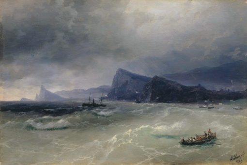 Cliffs | Ivan Constantinovich Aivazovsky | Oil Painting