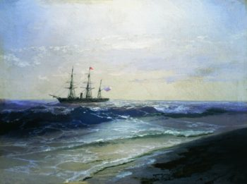 Seascape | Ivan Constantinovich Aivazovsky | Oil Painting