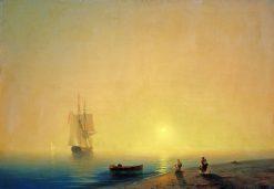 The Seashore | Ivan Constantinovich Aivazovsky | Oil Painting