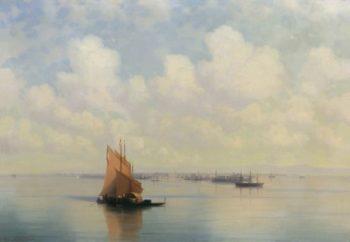 Seascape   Ivan Constantinovich Aivazovsky   Oil Painting