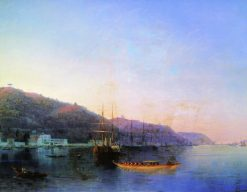 The Harbor | Ivan Constantinovich Aivazovsky | Oil Painting