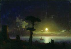Night | Ivan Constantinovich Aivazovsky | Oil Painting