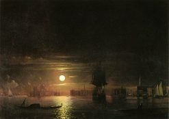 Night in Venice | Ivan Constantinovich Aivazovsky | Oil Painting
