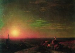 Chumak Caravan | Ivan Constantinovich Aivazovsky | Oil Painting