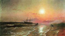 The Island of Ischia | Ivan Constantinovich Aivazovsky | Oil Painting