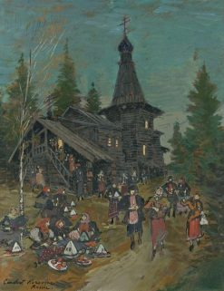 Easter Sunday | Constantin Alexeevich Korovin | Oil Painting