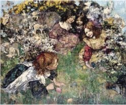 Easter | Edward Atkinson Hornel | Oil Painting