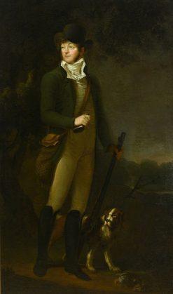 Portrait of Anton Wa?kowicz | Jan Rustem | Oil Painting