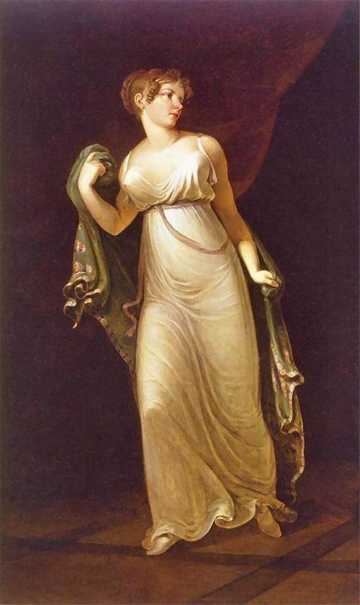 Portrait of aHanna Va?kovc | Jan Rustem | Oil Painting