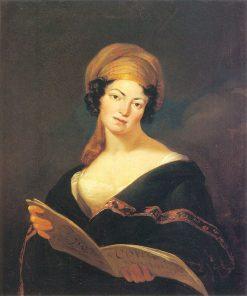 Portrait of Krystyna z Gerhardów Frankowa   Jan Rustem   Oil Painting
